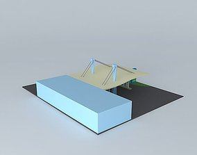 3D model Gas station NEG