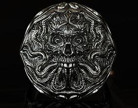Kraken ring 3D printable model