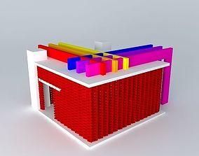 3D model Exhibition pavilion