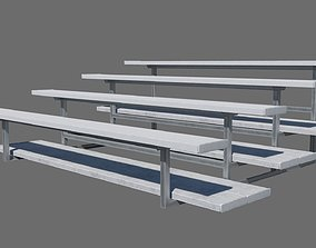 Football Soccer Bleacher 3D model