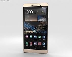3D model Huawei P8max Luxurious Gold
