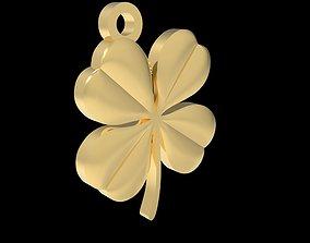 clover pendant 3D printable model