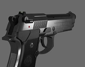 3D Beretta M9 Model