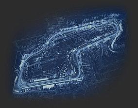 2016 Nascar Tracks 3D model