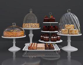 3D Cake bar Peanut and Honey cake