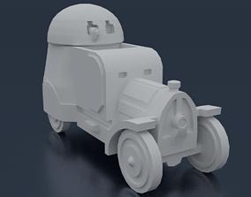Austro-Daimler Panzerautomobil 3D printable model