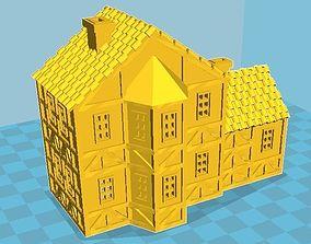 3D printable model Medieval House 01