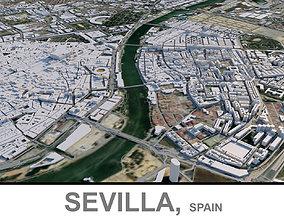 3D asset Sevilla in Spain
