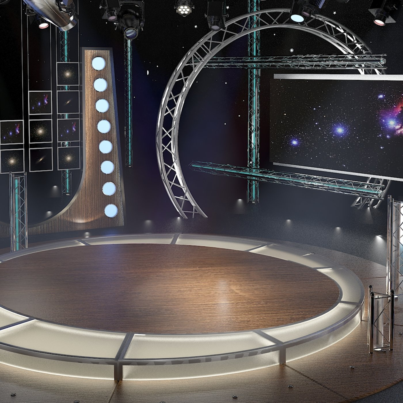 TV Studio Chat Set-23