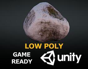 3D model Rock low poly