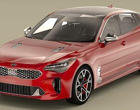 KIA Stinger GT 3D model kia