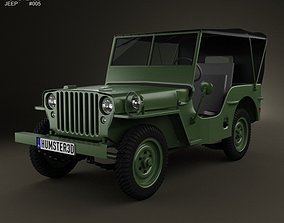 3D Jeep Willys MB 1941