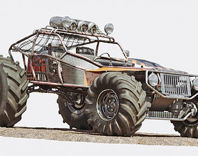Buggy 3D model off