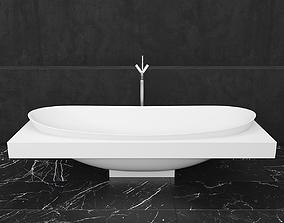 3D model Bath Ceramica Laminia IO