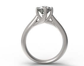JEWELRY ENGAGEMENT RING STL FILE FOR DOWNLOAD AND 1