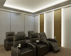3D Cinema Room Home Theater