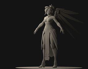 Overwatch Mercy 3D