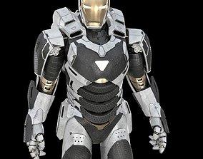 animated 3D Iron man Marvel Avengers Mark 39 Gemini model