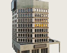 Building Skyscraper City Town 3D asset 5