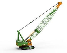 VR / AR ready Crawler Crane model refinery