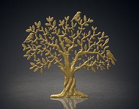 3D Tree for Award Plaque momento