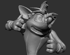 Crash Bandicoot 3D print model