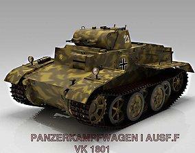 3D Panzer I Ausf F VK1801