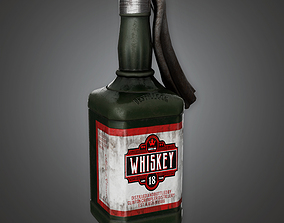 Molotov Cocktail BHE - PBR Game Ready 3D model
