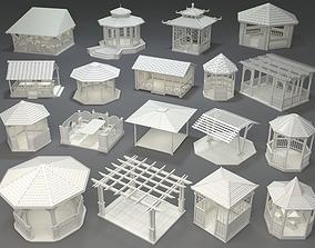3D Arbors -part-4- 18 pieces