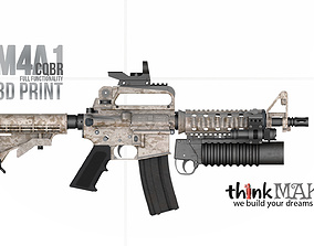 M4A1 3D Print Replica - Display Model