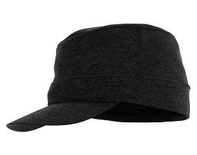Black Men s Hat 3D model