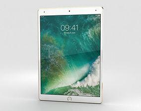 Apple iPad Pro 10-5-inch 2017 Gold 3D model