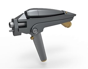 USS Kelvin Phaser from the movie Star 3D printable model 1