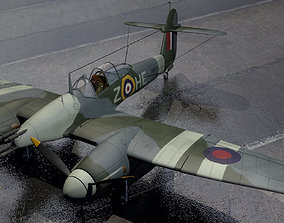 Westland Whirlwind Mk-1 3D model