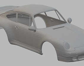 Porsche 993 Turbo Printable Body Car