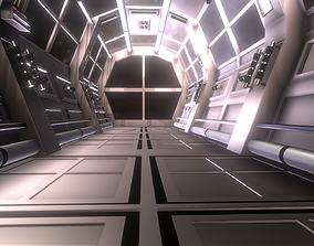 3D model Spaceship - Corridor