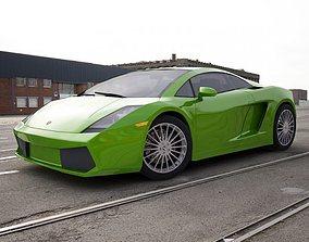 3D Lamborghini Gallardo