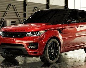3D model 2016 Land Rover Range Rover Sport