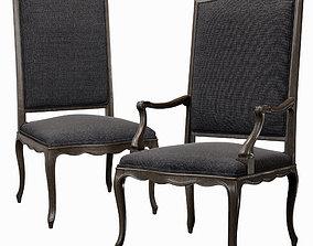 Angelo Cappellini Chair 30135 3D model
