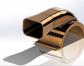 Upper Housing of Blower 3D printable model
