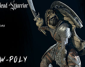 3D model Undead Warrior