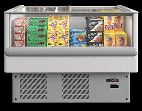 PLANET ice cream freezer 3D asset