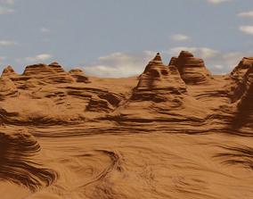 3D Desert Landscape