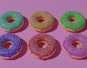 3D model Donuts - Tasty and Crispy Donuts is Here
