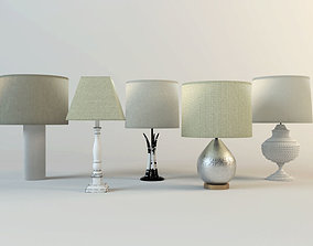 Table Lamps by ZARA HOME 3 3D