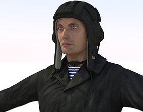 3D Russian Crewman