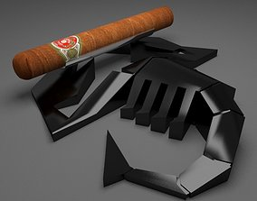 Cigar Holder 3D asset game-ready