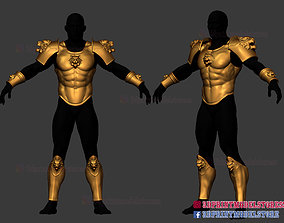 3D print model Larp Armor - Classical Tiger Roman Muscle 2