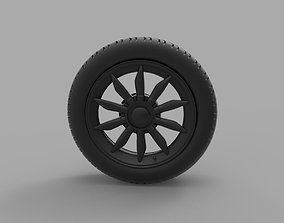 3D printable model Spyker C8 Laviolette LM85 wheel