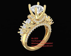 3D print model 1658 Diamond Ring